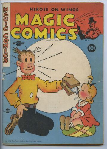 MAGIC COMICS #52 - Blondie - Mandrake - Popeye - Lone Ranger