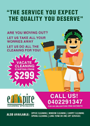 Vacate/Semi-vacate Cleaning Services East Perth Perth City Area Preview