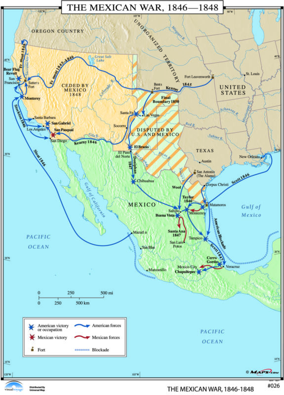 026 The Mexican War, 1846-1848