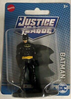 Batman Black Costume Justice League DC Comics mini figure Mattel 2020 NRFP!!!!