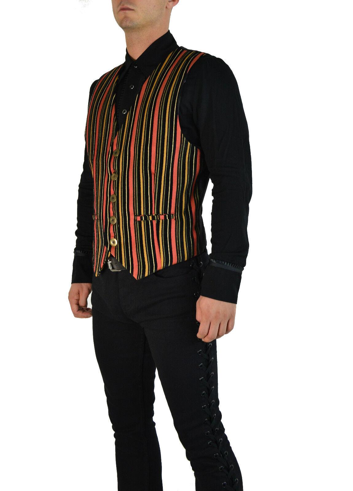 SHRINE GATSBY ARISTOCRAT VEST JACKET VICTORIAN VELVET GOTHIC COWBOY STEAMPUNK Clothing, Shoes & Accessories