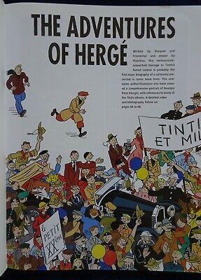 Adventures of Herge. Comic Book life of creator of Tintin. D & Q 4