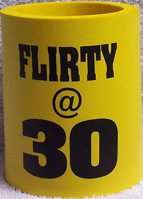 30th Birthday Flirty @ 30 Can Drink Cooler Gag Gift (EAA)