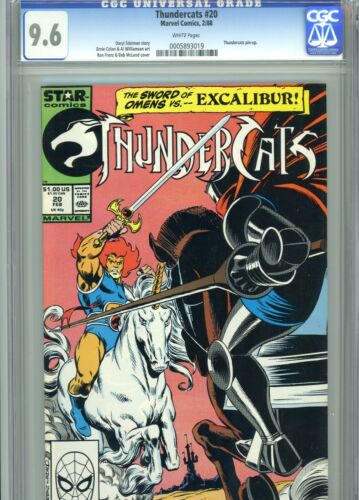 Thundercats 20 CGC 9.6 White Pages