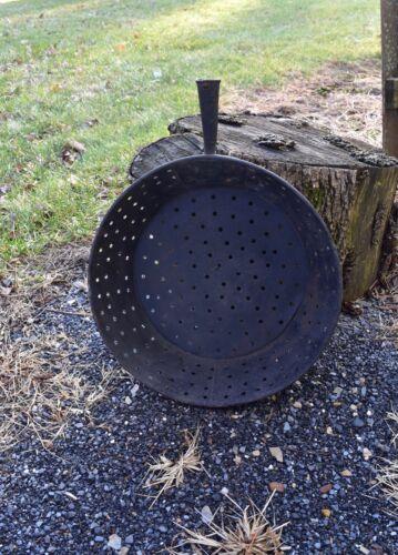 Antique Primitive Coal Ash Sifter Primitive Hearth Ware Tools Antique Farm Decor