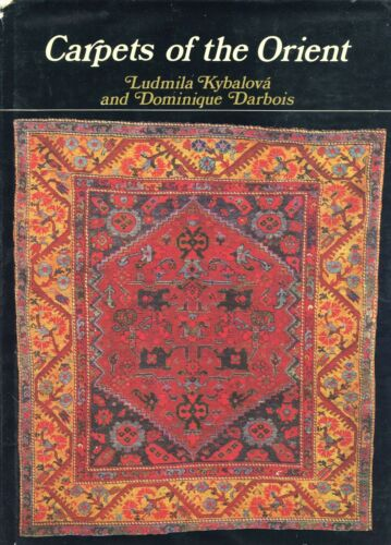 Antique Oriental Carpets Regions Types Symbols / Scarce Illustrated Book
