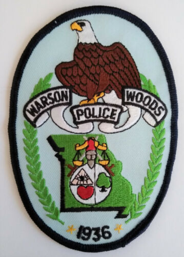 Warson Woods Missouri Police Patch // FREE US SHIPPING!