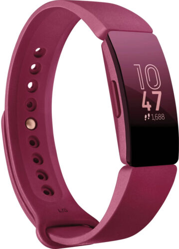 Fitbit Inspire Fitness Activity Tracker Sangria Small + Large Bands