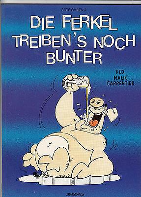 ROTE OHREN # 4 - DIE FERKEL TREIBEN´S NOCH BUNTER - KOX / MALIK - ARBORIS 1993