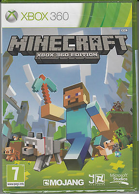 Minecraft Xbox 360 Edition Brand New Factory Sealed Fast Free Shipping