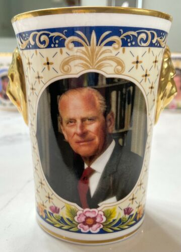 Caverswall Limited Edition Duke of Edinburgh Beaker - Mint / Hard To Find