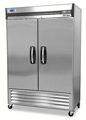 Norlake Nlr49-s Advantedge Commercial Two Door Reach-in Refrigerator