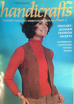 Kunsthandwerk - Teil 8,Gehäkelt: Afghan Fashion Jacke,Leatherwork - Vintage Mag