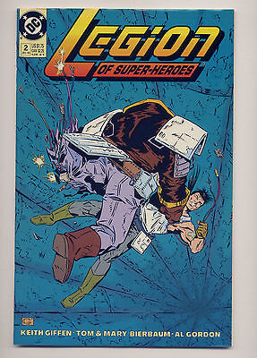 Legion of Super-Heroes #2 VF/NM 1989 ~ Fast Ship ~ DC Comic Book