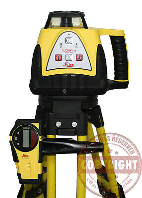 Leica Rugby 100 Self-leveling Rotary Laser Leveltrimbletopconspectra