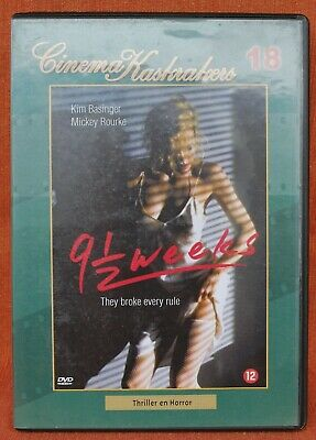 9 1/2 WEEKS  // KIM BASSINGER - MICKEY ROURKE  -- !!! DVD !!!