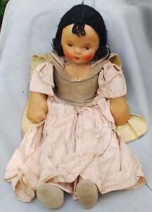 1936-19-Snow-White-12-Inch-7-Dwarfs-Extremely-Rare-Dolls-See-Description