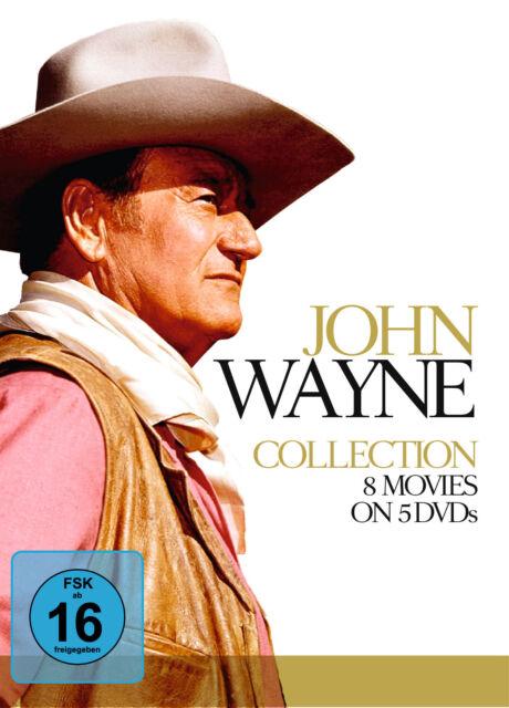 DVD John Wayne Collection 7 Filme auf 5DVDs