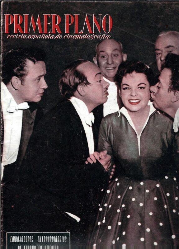 """Judy Garland """"Primer Plano"""" 1957 Spanish Magazine"""