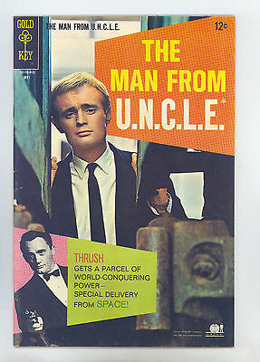 Man From Uncle  18 Vf  Robert Vaughn   David Mccallum Photo Cover  Certa