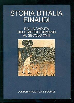 RUGGIERO ROMANO VIVANTI CORRADO STORIA D'ITALIA EINAUDI CDE 1994 PRIMI 7 VOLUMI