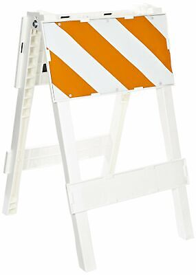 Folding Barricade Type 1 Traffic Safety Crowd Control Construction Zone Outdoor