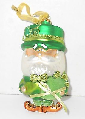Irish Leprechaun Xmas Ornament St. Patrick's Day