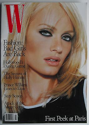 Amber Valletta  November 1995 W Magazine Prince William  Holly Hunter