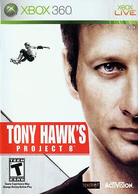 🔥  Tony Hawk Project 8 Xbox 360 Complete CIB
