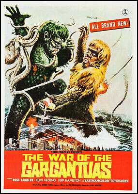 The War of the Gargantuas ( 1966 DVD ) * Russ Tamblyn * Kumi Mizuno *Sahara