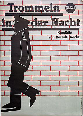 Theaterplakate, DDR, Berliner Ensemble
