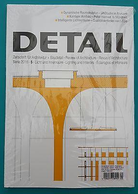 Detail Serie 2016 / 5 Zeitschrift für Architektur+Baudetail ungelesen 1A abs.TOP