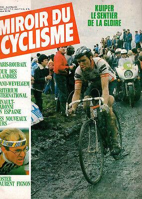 WIELRENNEN - CICLISMO - RADSPORT -  MIROIR DU CYCLISME N° 333 - ANNEE 1983