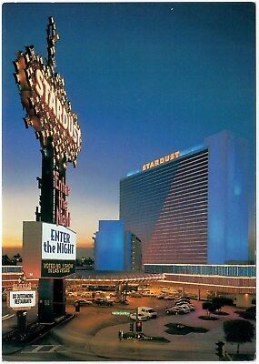 Stardust Hotel Casino Enter The Night Stage Extravaganza Las Vegas Nv Postcard D