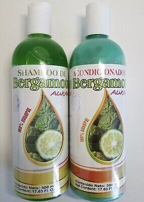 Shampoo & Conditioner Bergamota 100% Natural Best price and free