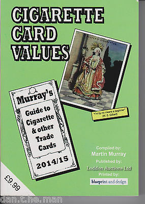 MURRAY'S CIGARETTE CARD VALUES GUIDE BOOK / CATALOGUE 2014 - 2015 - 47th Ed.