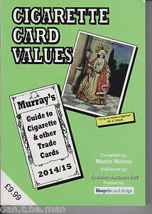 MURRAY'S CIGARETTE CARD VALUES GUIDE BOOK / CATALOGUE 2014 - 2015 - 47th Ed.
