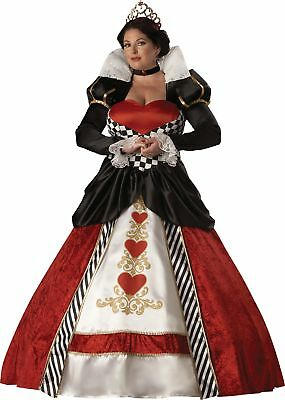 Queen of Hearts Elite Collection Adult Plus Size Womens Costume Royal XXL XXXL (Elite Queen Of Hearts Costume)