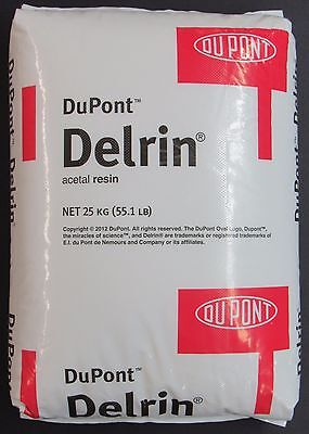New 55lbs Dupont Delrin Acetal Resin Uv-stabilized Injection Molding Pellets Pom
