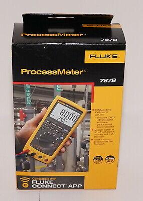 Fluke 787b Processmeter Process Meter Loop Calibrator Dmm Brand New