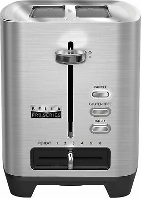 Bella – Pro Series 2-Slice Extra-Wide-Slot Toaster