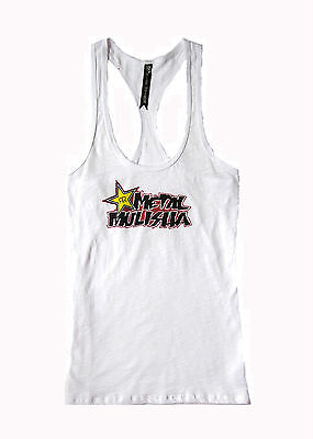 BRAND NEW METAL MULISHA ROCKSTAR WOMENS GRAPHIC T SHIRT TANK TOP TEE BLOUSE XS