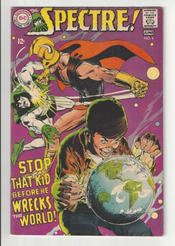 THE SPECTRE #4, 1968, FN CONDITION COPY