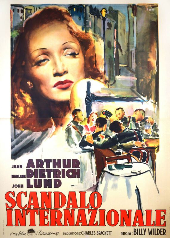 A FOREIGN AFFAIR - ORIGINAL ITALIAN POSTER