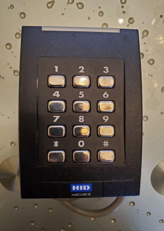 NEW HID multiCLASS SE RPK40 Wall Switch Keypad Reader - 921PTNNEK00000