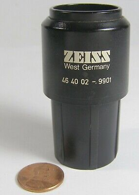 Zeiss Microscope Eyepiece 46 40 02-9701 W10x25 1 Count  Dark Edges Of Lens-pic