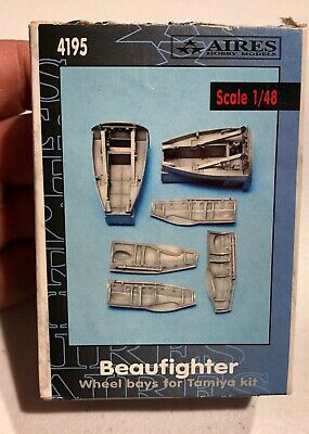 Aires Beaufighter Wheel Bays for Tamiya 1/48 Model Kit 'Sullys Hobbies'
