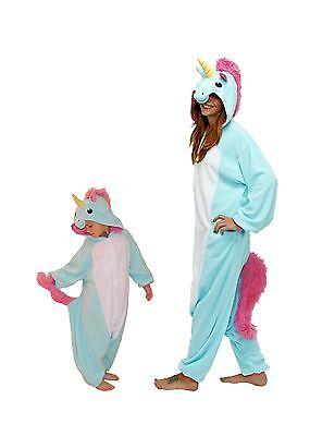 Blue Unicorn Kigurumi (SAZAC Blue Unicorn Kigurumi - Kids & Adults Costumes from)