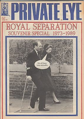(B) Princess Anne Cover - Private Eye Magazine 15 September 1989 No. 722 on Lookza