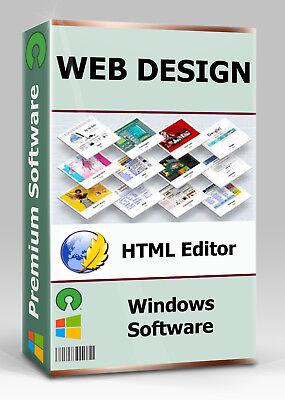 Web Design Software   HTML Editor   WYSIWYG   CSS   Webseite Homepage